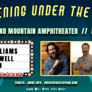 An Evening Under the Stars with ZACH WILLIAMS, MAC POWELL, AND CAIN!