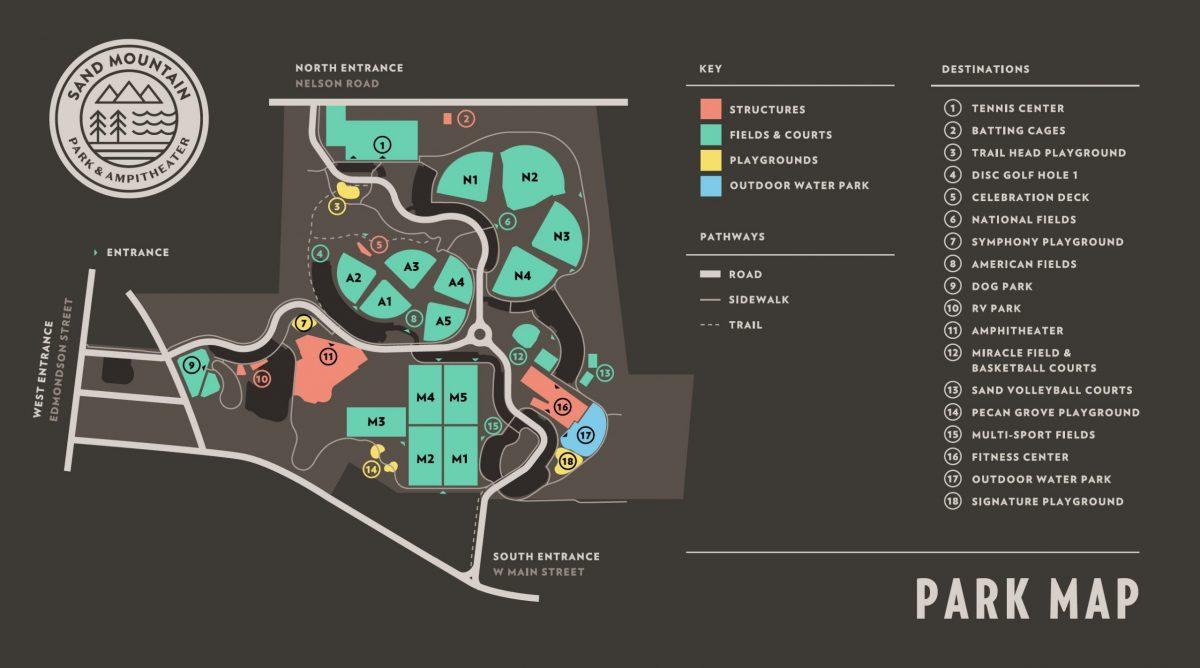 Horizontal Park Map
