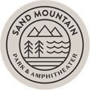 sand mountain park and amphitheater logo